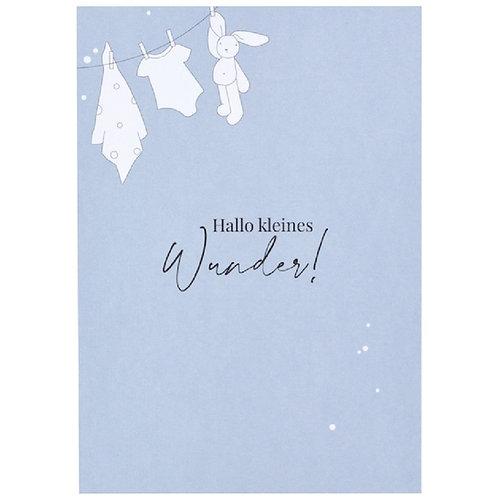 Postkarte - Hallo kleines Wunder