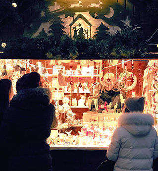 クリスマス・マーケットでのベンダー