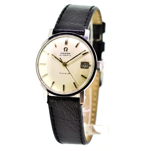 Gents Omega Geneve - Automatic Calendar Watch - Stainless Steel Case
