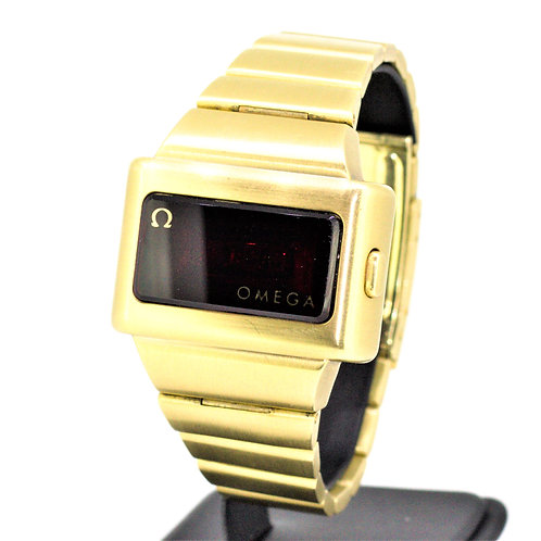 Gents Omega TC-1 In Solid 18k Gold - Unicorn Watch - From Original Owner - W/Box