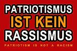 Patriotismus ist kein Rassismus Kopie.jp