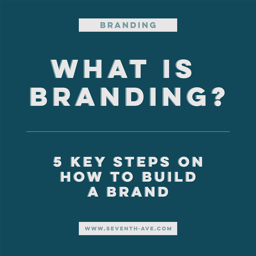 What is branding? 5 key steps on how to build a brand