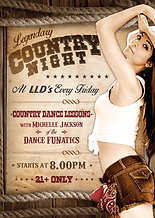 Night Club Event - Country Night