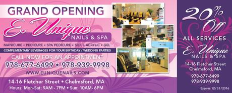 Hair Salon Grand Opening Coupon Mailer