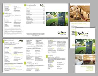 Radisson Hotel Menu