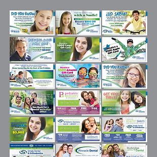 Simply Orthodontics Mailers
