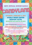Candyland Dinner Dance Poster