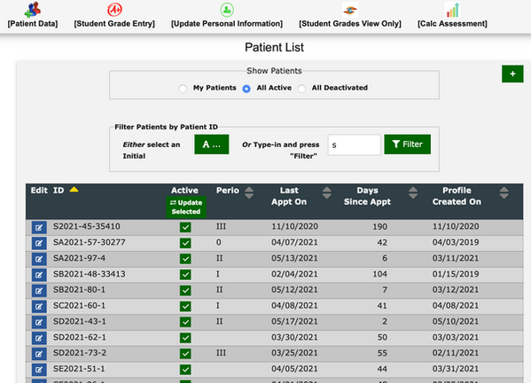 New Patient List view - Users off campus