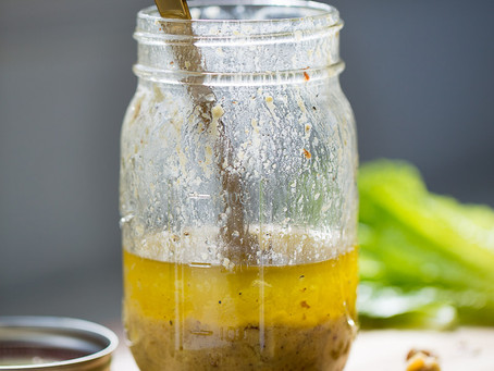 SIMPLE MUSTARD LEMON VINAIGRETTE