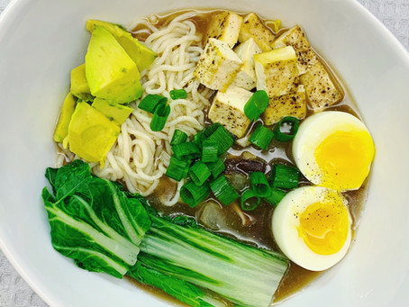 LOWER CARB SIMPLE VEGGIE RAMEN