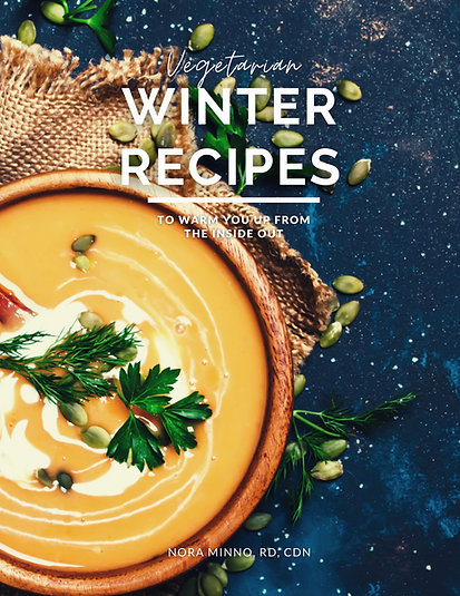 Vegetarian Winter Recipes (Digital Cookbook)