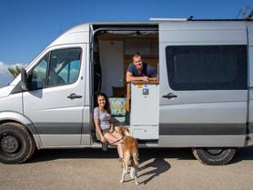 Fancy a tour of our van?