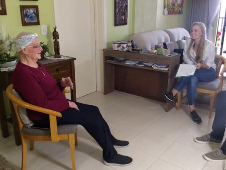 A história - imigração em vídeo estréia com Oma Rika contando sua história