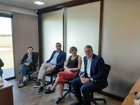 Comitiva Diplomática dos Países Baixos se reúne com Sindicato Rural e Farsul