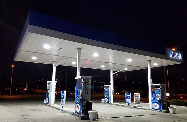 Gas Station Light