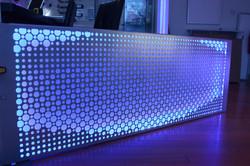 Art Panel with Light