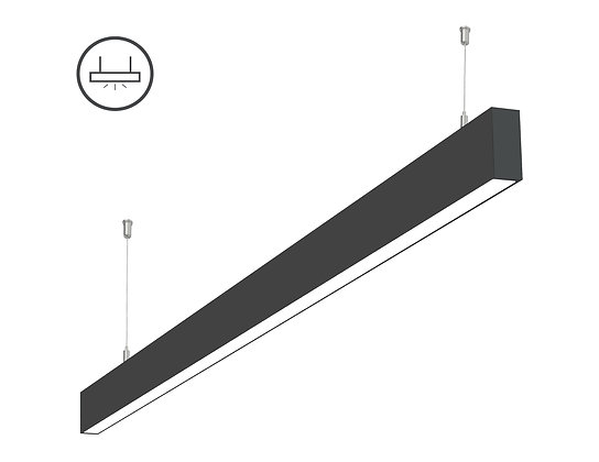 L-8050: 0-10V Dimming LED Linear Light Single Run 4ft/8ft