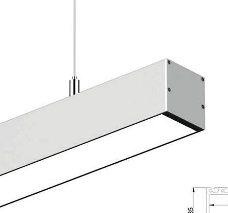 YI 3535 Aluminum LED Strip Channel