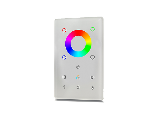 Wireless RF RGBW Wall Mount Controller 3Z for Color LEDs