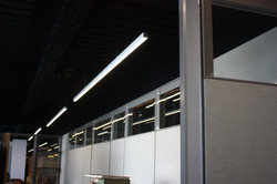 Office with LED light