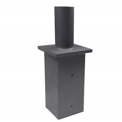 LED Shoebox Light Vertical Tenon Adapter - Square