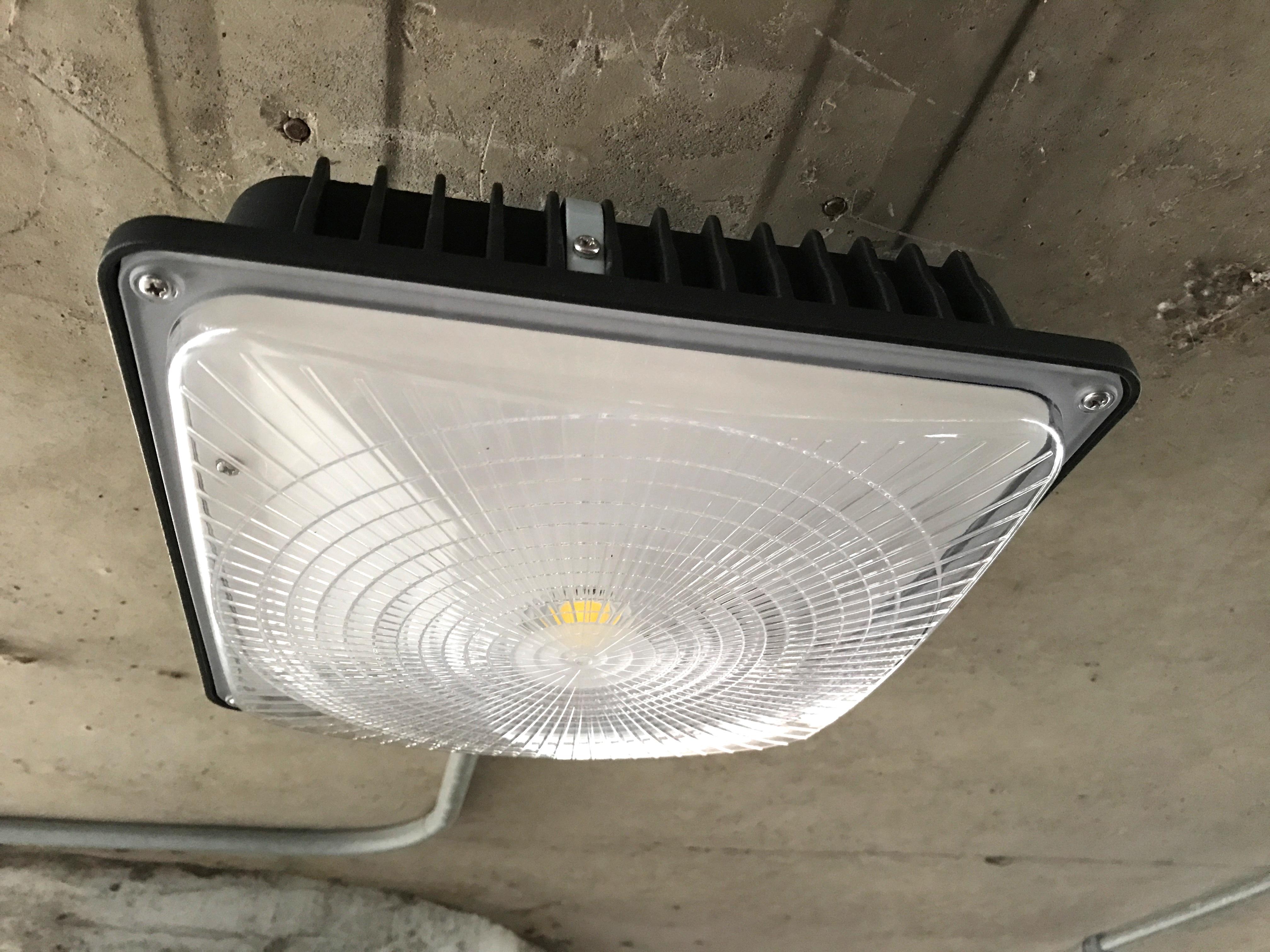 Slim Canopy LED Light