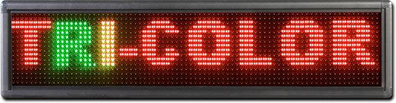 Indoor Sign -  Tri-Color - LED Display
