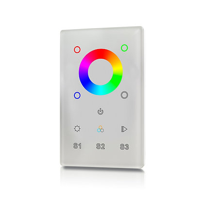 DMX RGBW Wall Mount Controller 1Z for Color LEDs