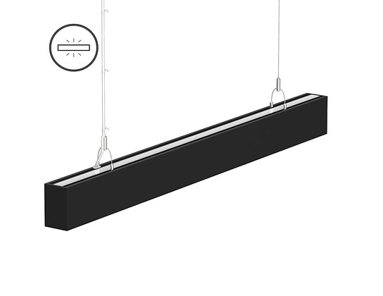 L-11070: 0-10V Dimming LED Linear Light 4ft/8ft Up and Down Illuminate