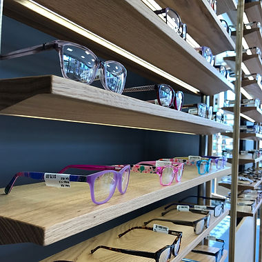 Retail Store with LED Light