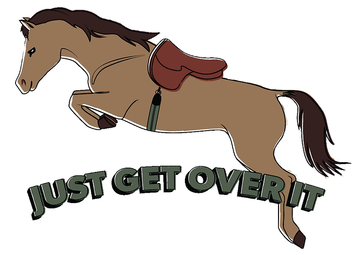 Merch design for equestrian clothing brand. The print will be used on t-shirts for adults and kids. Illustrated by Gaby Katten a Tel Aviv based designer