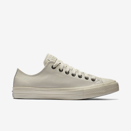 e3878947614e CONVERSE X JOHN VARVATOS CHUCK II COATED LEATHER LOW TOP UNISEX SHOE