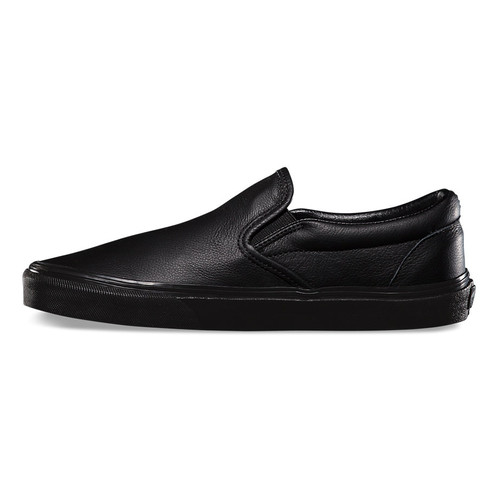 4b2d45a2ba9b OVERVIEW The Premium Leather Classic Slip-on has a low profile