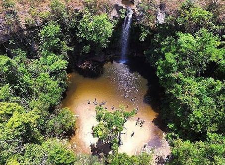 Cachoeira do Abade vista de cima: a maravilha dos drones