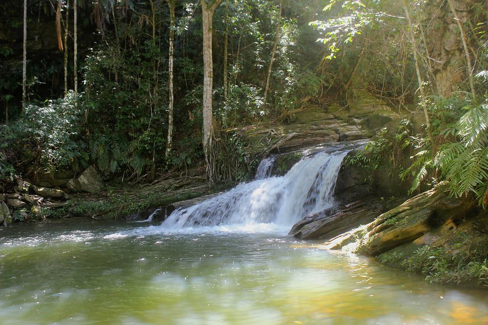 Cachoeira do LAndi em Pirenópolis Goiás