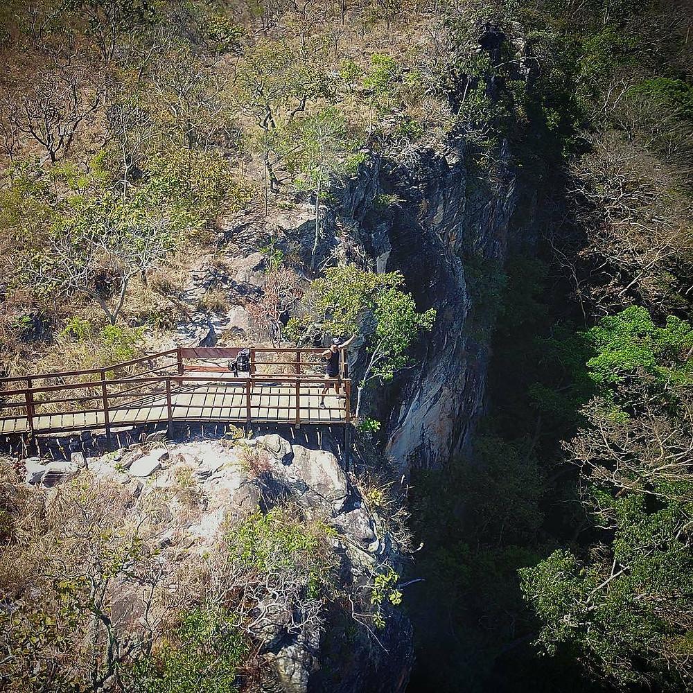 Mirante do Bugio na Reserva do Abade em Piri