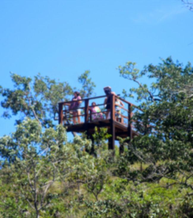 Mirante das Andorinhas,  mirante na reserva do abade