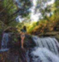 Cachoeira do Landi na Trilha do Vale Cachoeira do Abade