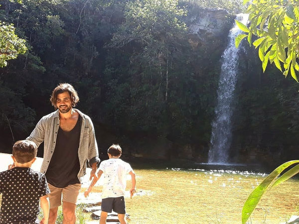 Ator Juliano Cazarré da globo Cachoeia+do+Abade