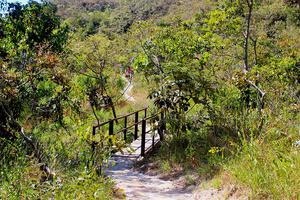 Vista da Trilha da Cachoeira do ABade