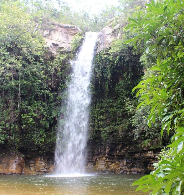 Cachoeira do Abade em Pirenopolis, Goiás
