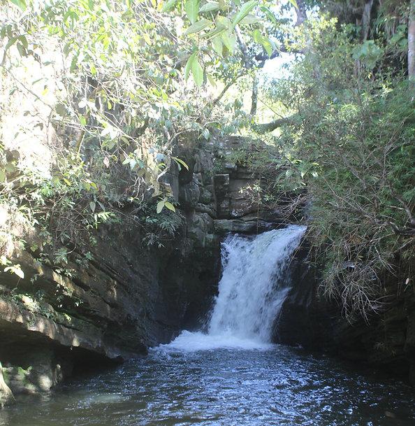 Cachoeira do Canion, Canyon a segunda da Trilha do Abade, na Reserva do Abade