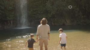 Juliano Cazarré Mariano na Cachoeira do Abade em Pirenópolis Goiás