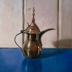 Moroccan coffee pot