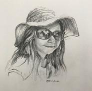 Girl in Sunhat