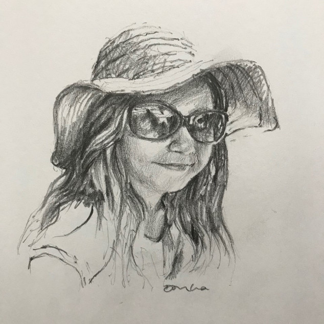 Girl in Sunhat