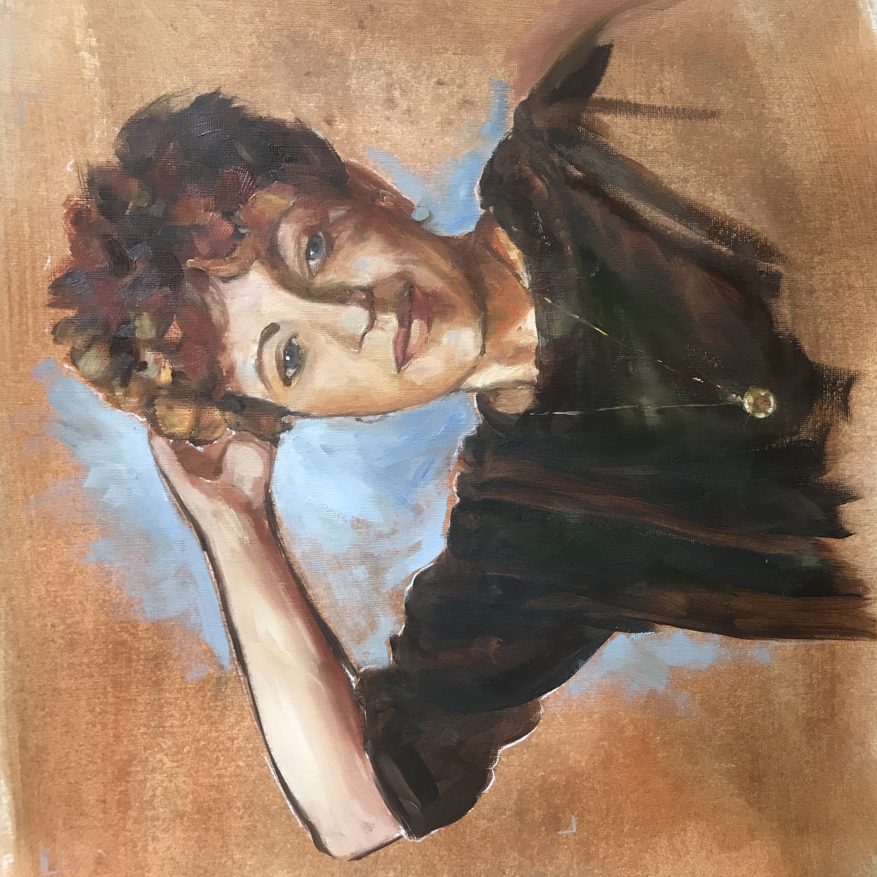 Annie Macmanus oil painting