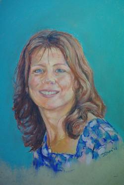 Self-portrait Dawn Cox
