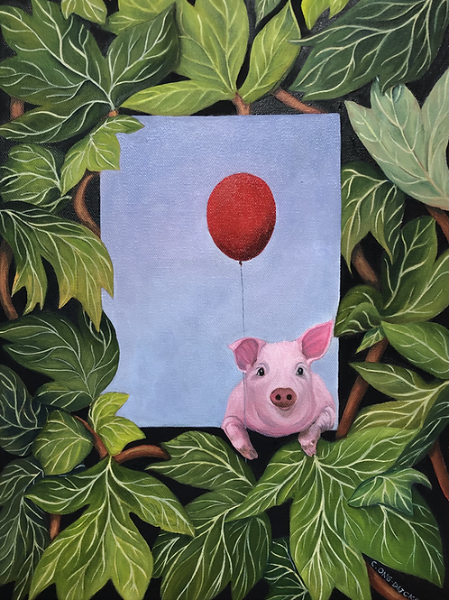 Piggy and her Red Balloon