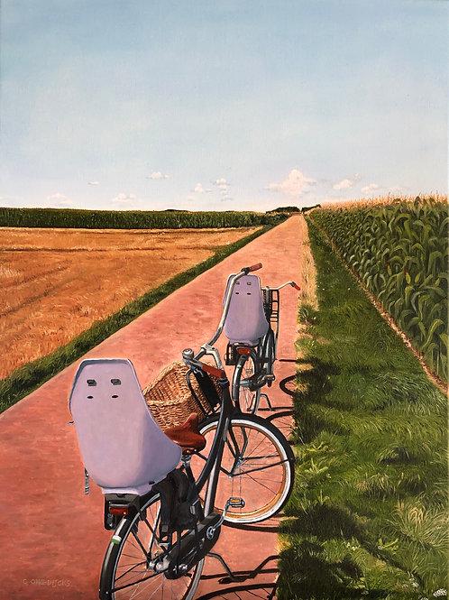 In the Dutch Mountains - Fine Art Print